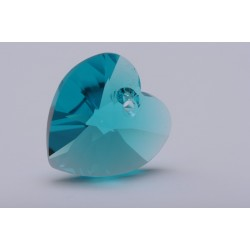 P0464-Swarovski Elements 6228 Blue Zircon 10mm-1 buc