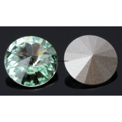 P0479-SWAROVSKI ELEMENTS 1122 Chrysolite Foiled 12mm-1buc