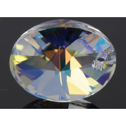 P0590-Swarovski Elements 6028 Crystal Aurore Boreale 18mm 1 buc