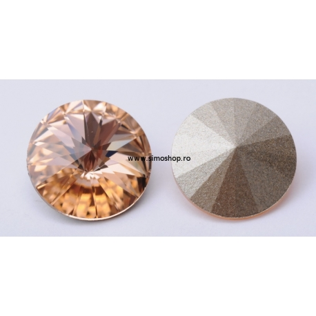 P1207-SWAROVSKI ELEMENTS 1122 Light Peach Foiled SS47-11mm