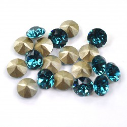 P1294-Swarovski Elements 1088 Indicolite Foiled SS34 7mm 1 buc