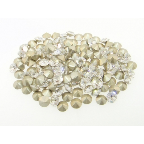 P1308-Swarovski Elements 1088 Crystal Silver Shade Foil SS34 7mm