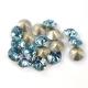 2324-Swarovski Elements 1088 Aquamarine Foiled PP18 1 buc
