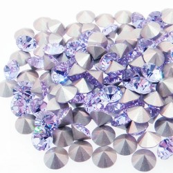 P1681-Swarovski Elements 1088 Violet Foiled SS39 8mm
