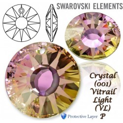 P1801-SWAROVSKI ELEMENTS 6724 Crystal Vitrail Light 12mm 1 buc