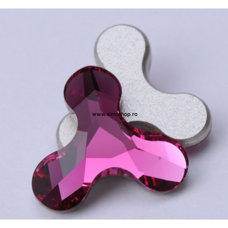 P1843-SWAROVSKI ELEMENTS 2708 Fuchsia 8x8.7mm 1 buc