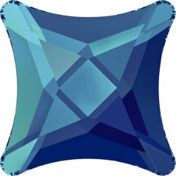 2513-SWAROVSKI ELEMENTS 2494 Crystal Bermuda Blue F 6mm