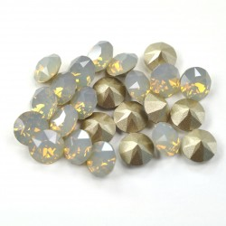 P1938-Swarovski Elements 1088 Light Grey Opal Foiled SS29 -6mm