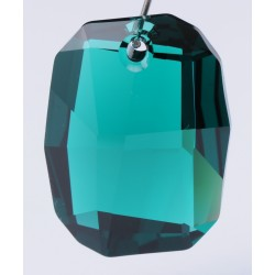 P0754-SWAROVSKI ELEMENTS 6685 Emerald 19mm-1 buc