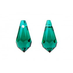 P0616-Swarovski Elements 6000 Emerald 11x5,5mm-1 buc