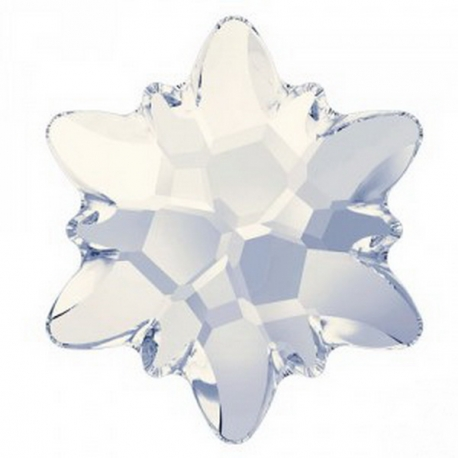 P2062-Swarovski Elements 2753 White Opal Foiled 10mm