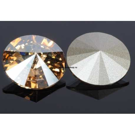 P0730-SWAROVSKI ELEMENTS 1122 Crystal Golden Shadow 12mm-1buc