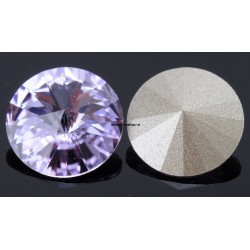 2541-SWAROVSKI ELEMENTS 1122 Violet Foiled SS29-6.5mm