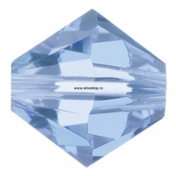 2542-SWAROVSKI ELEMENTS 5328 Light Sapphire 3mm-1buc