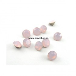 P2497-Swarovski Elements 1088 Rose Water Opal Foiled SS39 8mm