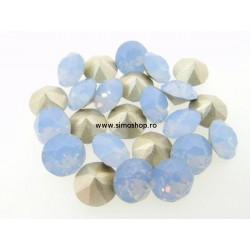 P2500-Swarovski Elements 1088 Air Blue Opal Foiled SS39 8mm