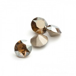 P2513-Swarovski Elements 1088 Bronze Shade Foiled SS39 8mm