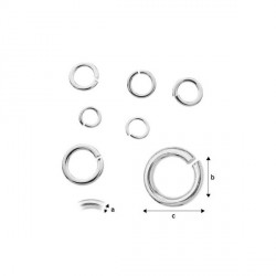 G883-Zale simple 0.95mm x 3.9mm