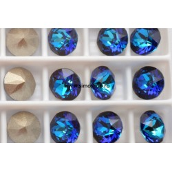 P2618-Swarovski Elements 1088 Bermuda Blue Foiled SS39 8mm