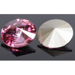 P0933-SWAROVSKI ELEMENTS 1122 Rose Foiled 12mm-1buc
