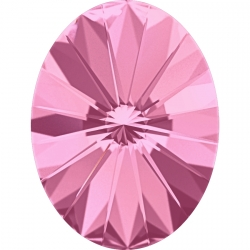 2649-Swarovski Elements 4122 Rose Foiled 8x6mm 1 buc
