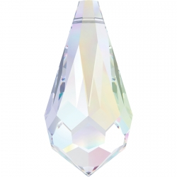 P0614-Swarovski Elements 6000 Crystal Aurore Boreale 22x11mm-1 b