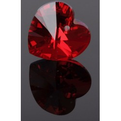 P0005-Swarovski Elements 6228 Siam Aurore Boreale 10mm-1 buc