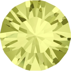 0784-Swarovski Elements 1028 Jonquil Foiled PP9 1.5mm 50BUC
