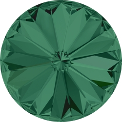 P0731-SWAROVSKI ELEMENTS 1122 Emerald Foiled 12mm-1buc