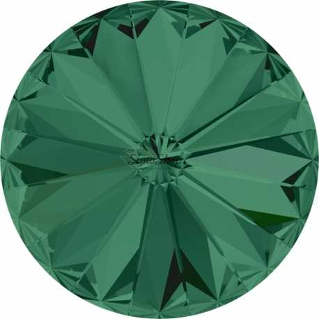 P0816-SWAROVSKI ELEMENTS 1122 Emerald Foiled 14mm-1buc