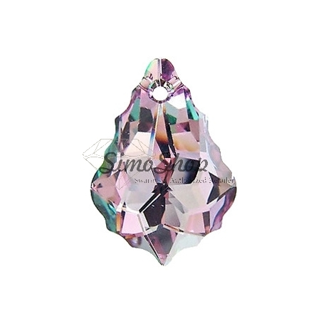 P3023-Swarovski Elements 6090 Vitrail Light 22x15mm-1 buc