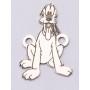 P3031-Swarovski Elements 2078/I Greige (Dorado Z) Silver-Foiled 7mm - 1BUC