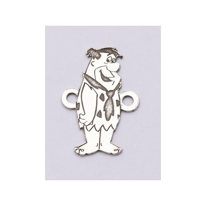 P3033-Swarovski Elements 2078/I Black Diamond (Dorado Z) Silver-Foiled 7mm - 1BUC