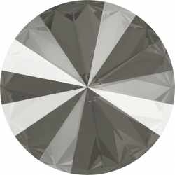 P3065-SWAROVSKI ELEMENTS 1122 Dark Grey Unfoiled 14mm-1buc