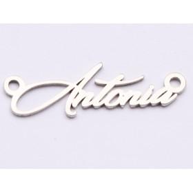 G1232-Charm link infinit din argint 19.5x7.9mm cu loc pentru cristale 1028