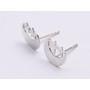 G1233-Element inchidere pentru incuietoare tip toggle cu loc pentru Swarovski 1028