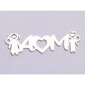 G1237-Tije cu cerc din argint 20mm 1buc