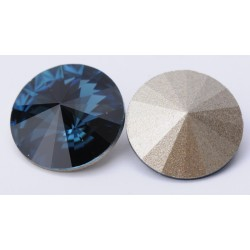 P0480-SWAROVSKI ELEMENTS 1122 Montana Foiled 12mm-1buc