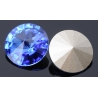 P0489-SWAROVSKI ELEMENTS 1122 Sapphire Foiled SS47-11mm-1buc