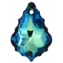 P2000-Swarovski Elements 6090 Bermuda Blue 22x15mm-1 buc