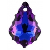 P0369-Swarovski Elements 6090 Heliotrope 22x15mm-1 buc