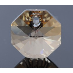 P3084-SWAROVSKI ELEMENTS 6401 Crystal Golden Shadow 14 mm 1 buc