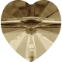 P3143-Swarovski Elements 5742 Crystal Golden Shadow 14mm-1 buc