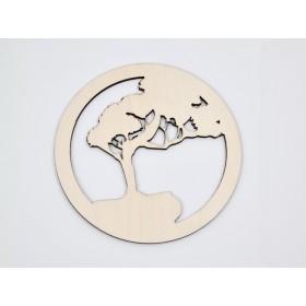 G1289-Incuietoare rotunda din argint 8.3x6.5 mm 1 bucata