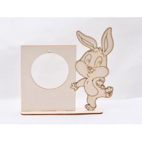 G1306 - Bilute Argint 5mm, cu o singura gaura 0.90mm 1 bucata