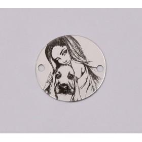 G1320-Baza inel reglabil cu platou drept de 10mm 1 buc