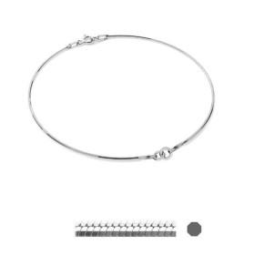 G1341-Capacel rotund  3mm argint 925
