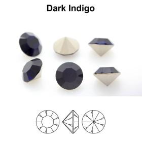 D311- Punga plastic albastru metalic, autoadeziva - 100buc