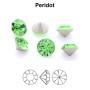 P1777-Swarovski Elements 2808 Crystal Gold Patina F 10mm