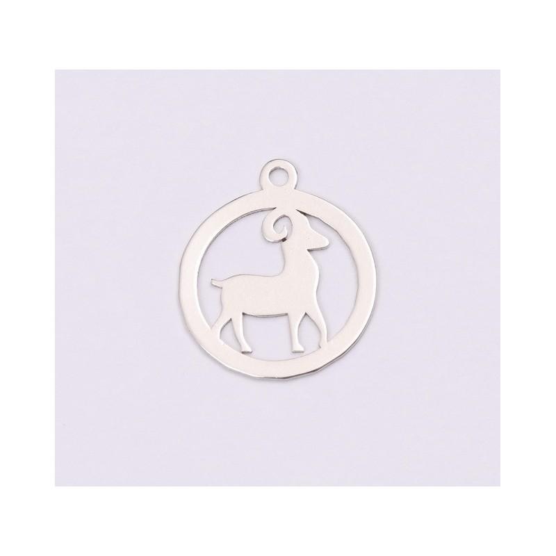 G1350-Tortita deschisa pentru inimioare flatback swarovski 2808 de 14mm